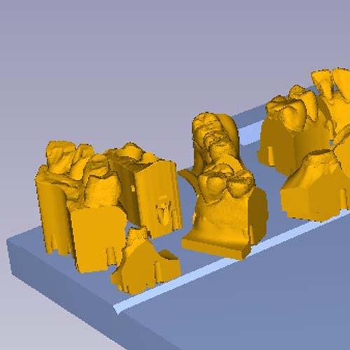 3Dプリンターのソフトでシミュレーション